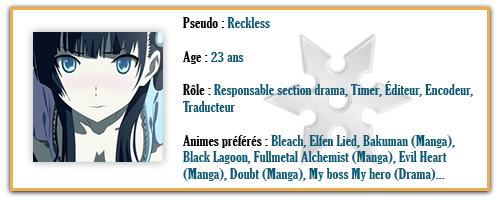 Reckless Plaque